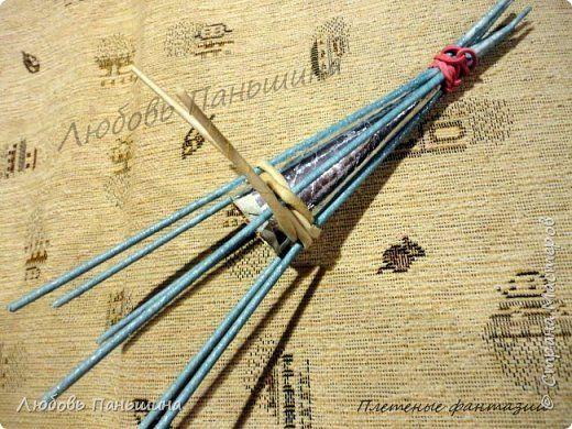 Мастер-класс Поделка изделие Новый год Плетение Елочки - магнитики Бумага Магниты Трубочки бумажные фото 2