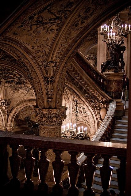 Palais Garnier, Opéra National de Paris by mmmmgoatcheese, via Flickr