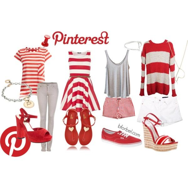 """Social Media Inspired Outfits- Pinterest"" by bforbel on Polyvore"