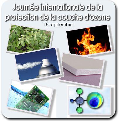 16 septembre #ozone : Pense-bête à l'occasion de la Journée de la protection de la couche d'ozone. Pourquoi la protéger? La couche d'ozone absorbe certaines radiations d'ultraviolets. Sans l'ozone, la vie sur Terre ne serait sans doute pas possible.  Depuis le Protocole de Montréal et ses amendements qui interdisent la production de certaines substances nocives, des signes de rétablissement de l'épaisseur de la couche d'ozone ont été constates en 2006. http://www.un.org/fr/events/ozoneday/