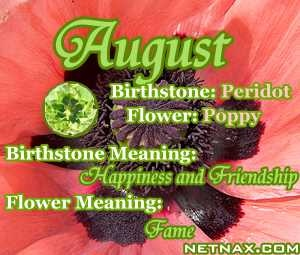 Misc jewelry pinterest august quotes flower meanings and peridots