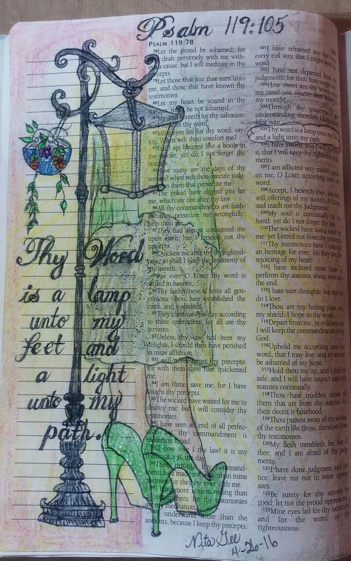 The 25+ best Thy word ideas on Pinterest | Psalm 119 kjv ...