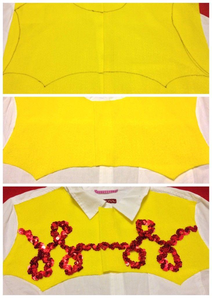 pectoral de camisa de Jessie                                                                                                                                                                                 Más