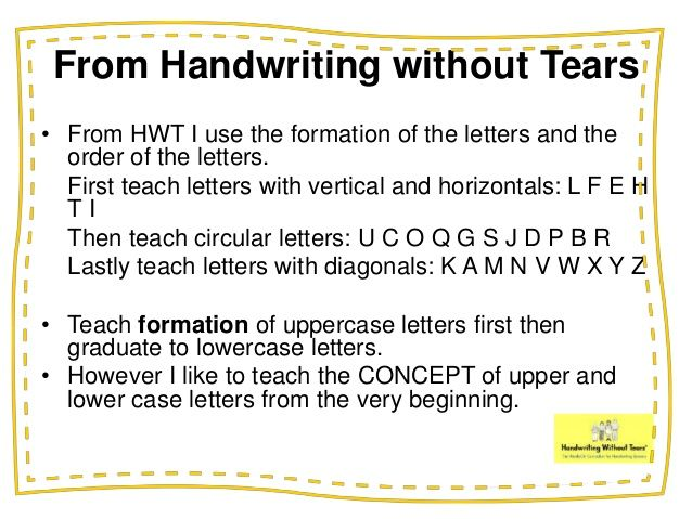 teaching handwriting order of letters - Google Search