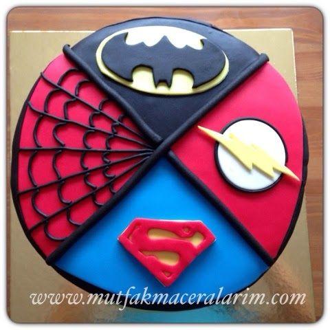 Mutfak Maceralarım: Süper Kahramanlar Pastası