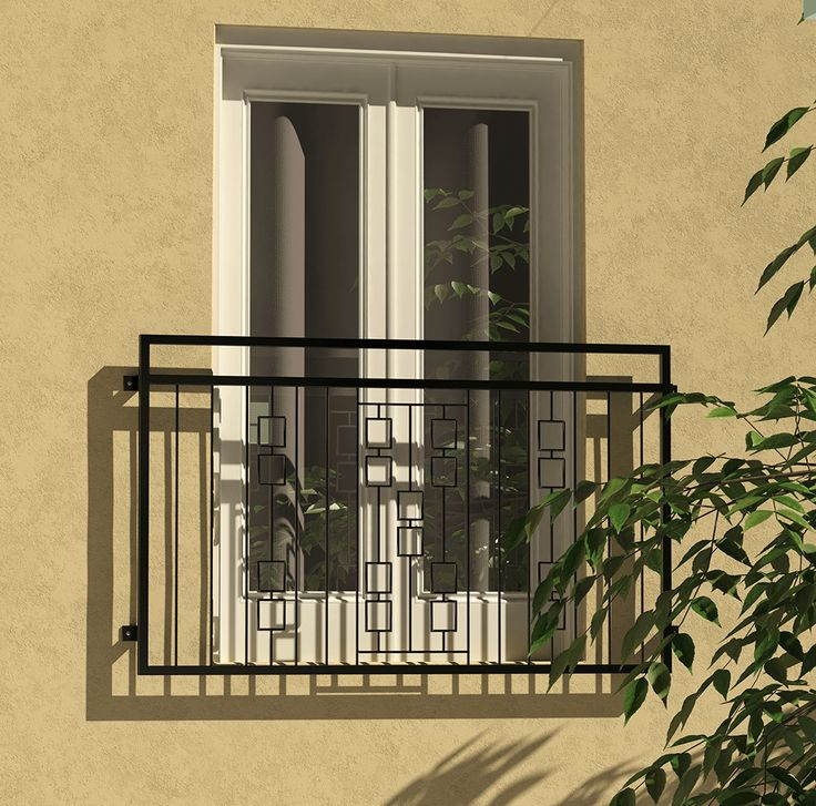 A Truly Stunning Juliet Balcony With Geometric Design