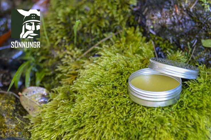 Gullsskegg: 100% Natural Beard of Gold Viking Balm. Traditional nordic ingredients. All naturally extracted without the use of chemicals. Handmade with natural seed oils, sheep wool oil, bees wax, honey, plant extracts, and naturally extracted essential oils.