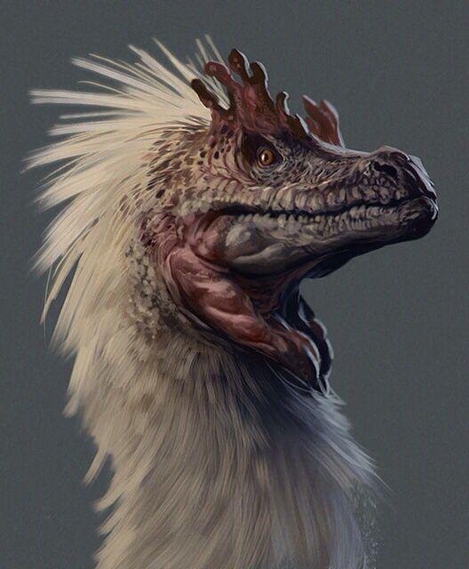 Creature Concept, Dinosaur Art