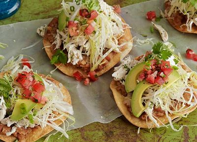 Chicken Tostadas 26 Recipes For The Ultimate Mexican Fiesta | PureWow National
