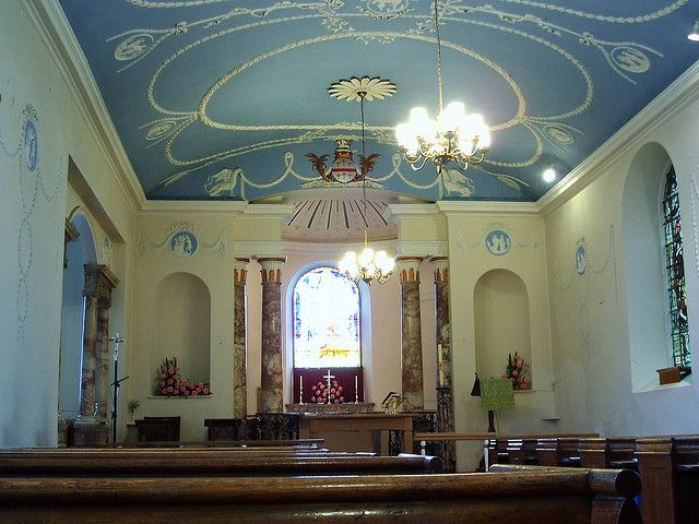 Robert Adam Interiors | St Bartholomew's Binley: Interior: Craven Arms  above the Chancel Arch