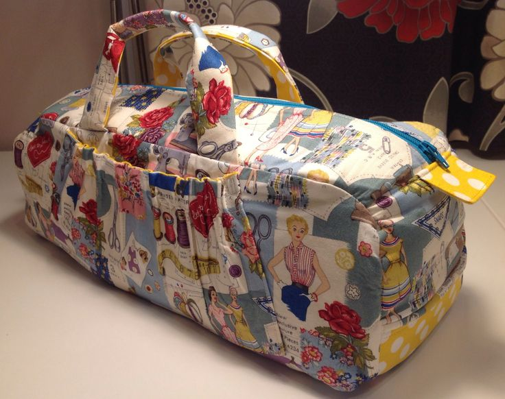 Sewing Bag, pattern was in my head!