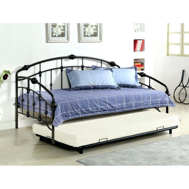 Metal Daybed Ikea Large Size Of With Pop Up Trundle Black Daybeds
