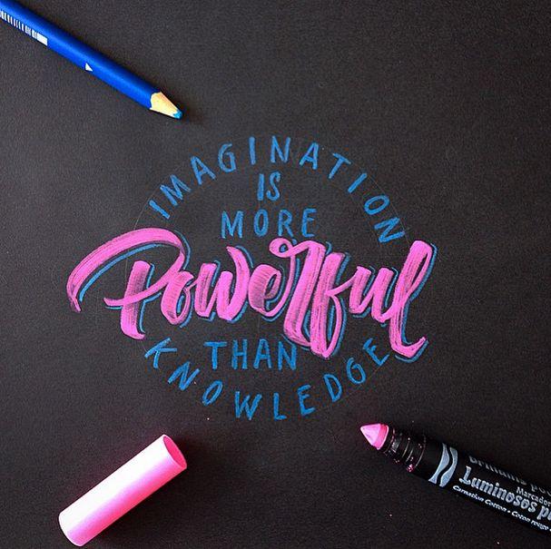 Crayola & Brushpen Lettering Set on Behance