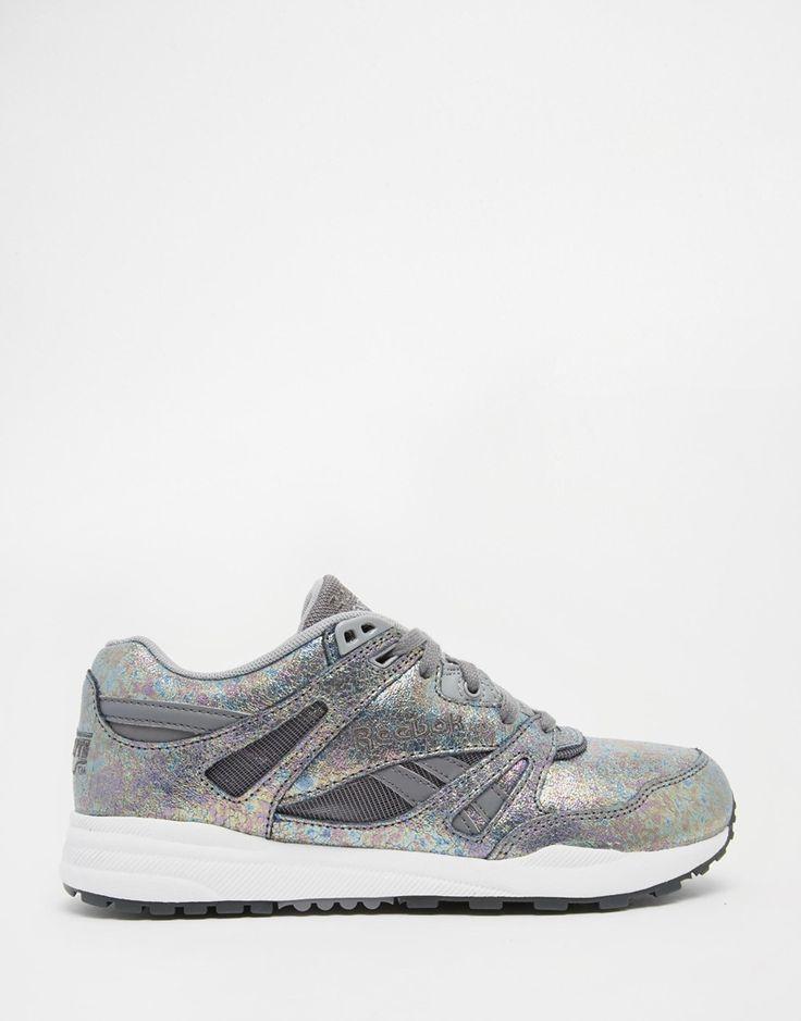 Reebok Ventilator Iridescent Silver Sneakers
