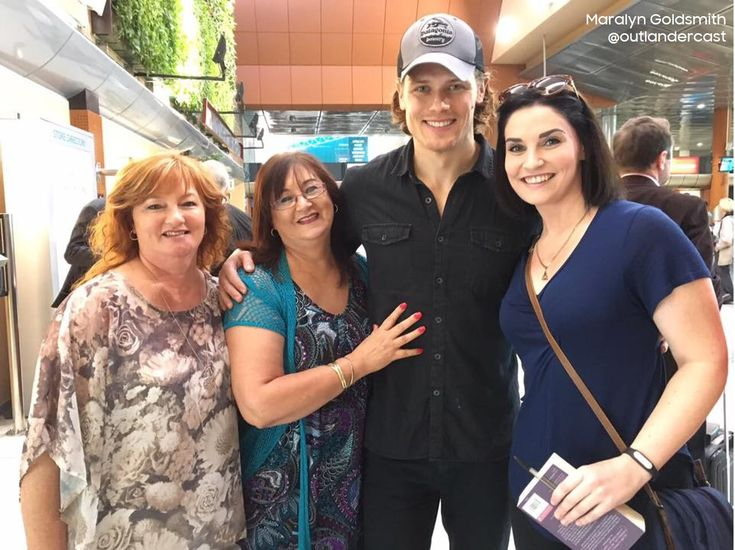 Sam Heughan has arrived in South Africa for Outlander Season 3 filming and we were on the ground to welcome him!