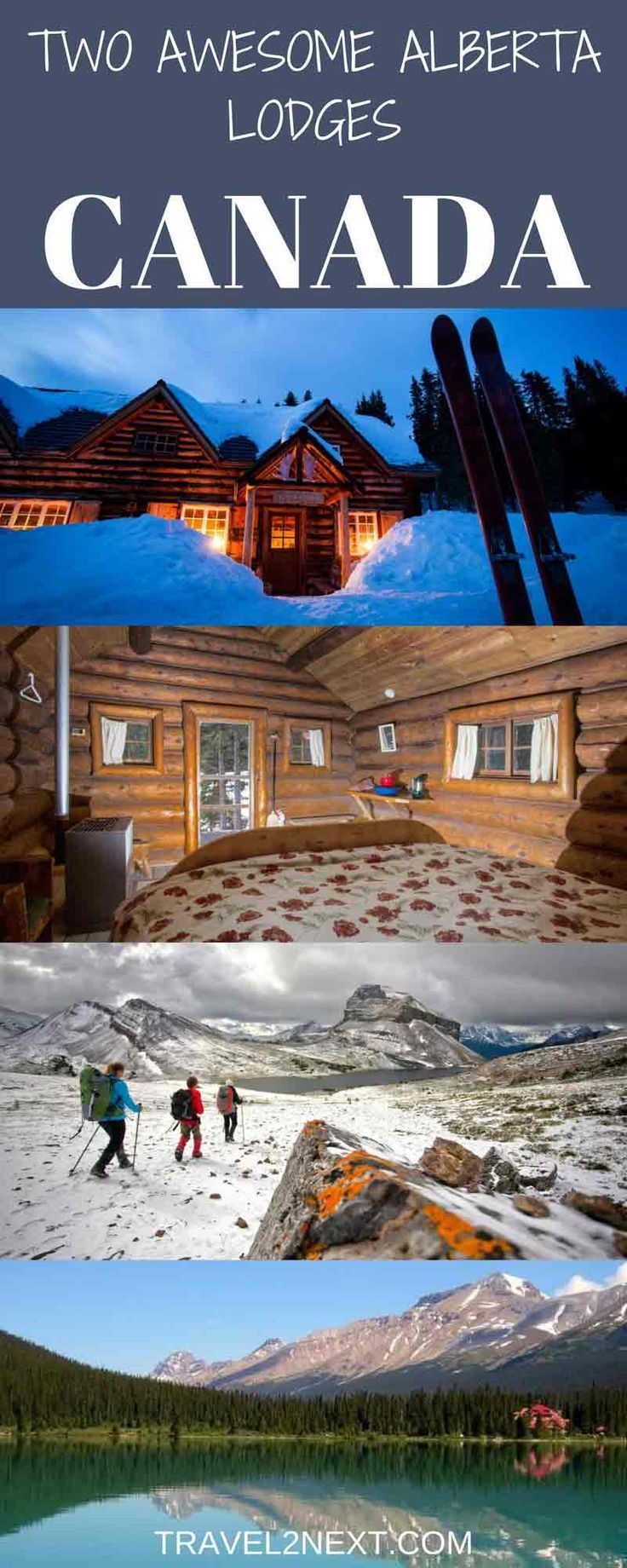 two awesome alberta lodges