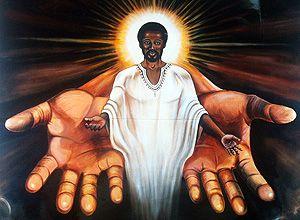 Thais Bilenky/Folhapress Reprodução da imagem de Jesus em igreja em Chicago