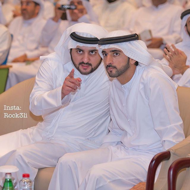 Maktoum y Hamdan bin Mohammed bin Rashid Al Maktoum, 25/04/2016. Foto: rock3li