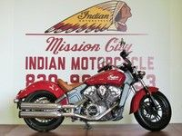2015 Indian® Scout™ Indian Red