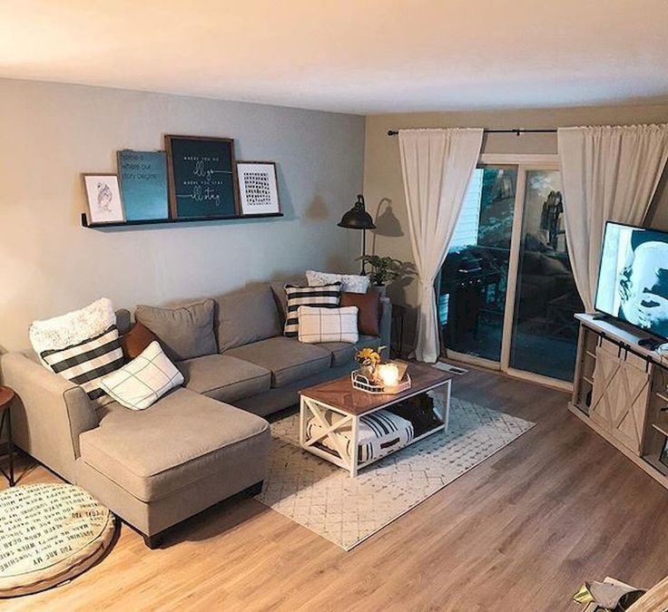 Cool 75 Cheap And Easy First Apartment Decorating Ideas On A Budget Homespecially First Apartment Decorating Farm House Living Room Apartment Decorating Living