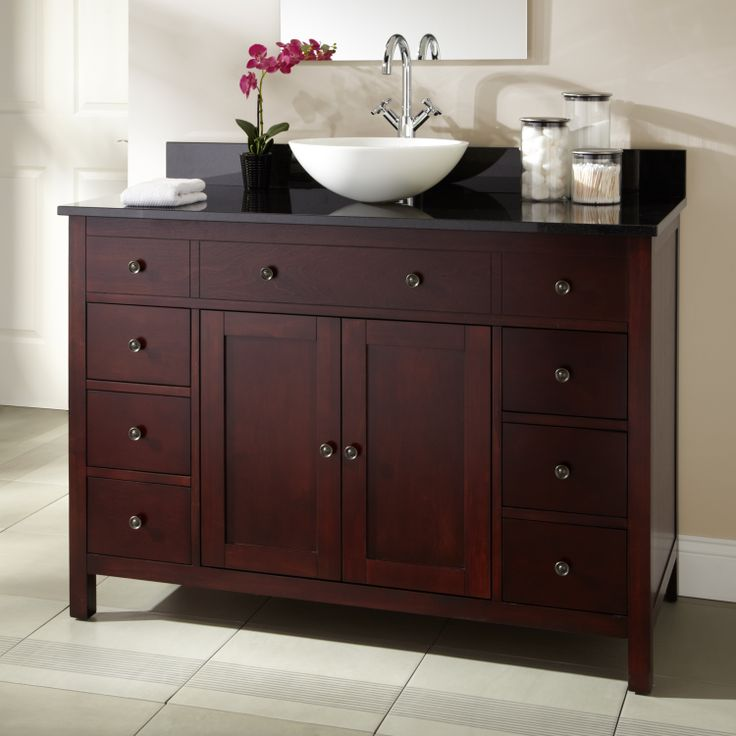 15 best images about hardware for cherry cabinets on pinterest for Cherry bathroom vanity