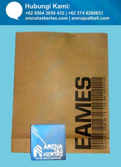 tas kertas denim eames, kemasan tas kertas ramah lingkungan | Desain ...
