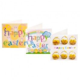 Our range of Easter cards are great for sending to family and friends.