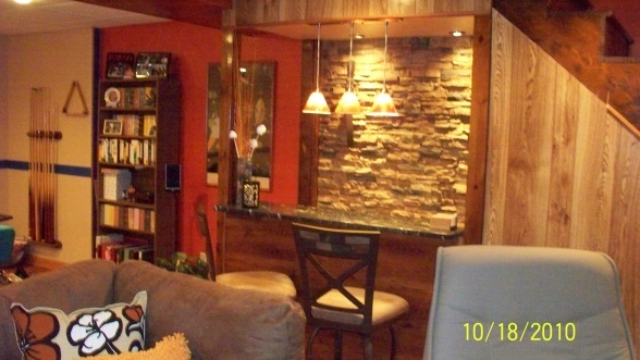 Simple Bar Idea For The Basement Home Basement Finishing Ideas P