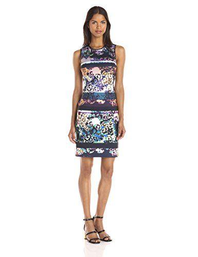 Clover Canyon Sportswear Women's Floral Filter Sleeve Dress