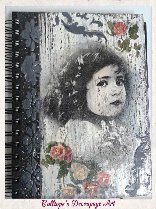 Art Journal | Calliope's Decoupage Art