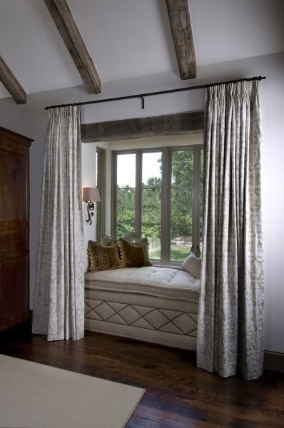 bay window seatwould be nice in master bedroom or even