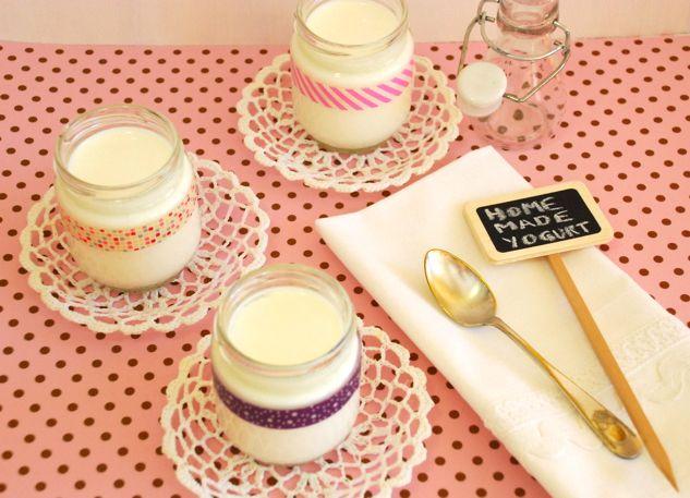 The Pink Cake Factory: Iogurts naturals (amb iogurtera)