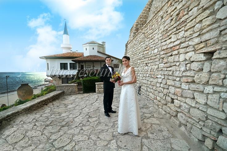 wedding photo shoot balchik - bulgaria