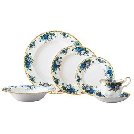 Royal Albert® Moonlight Rose 5-pc. Place Setting with Bonus* Soup Bowl