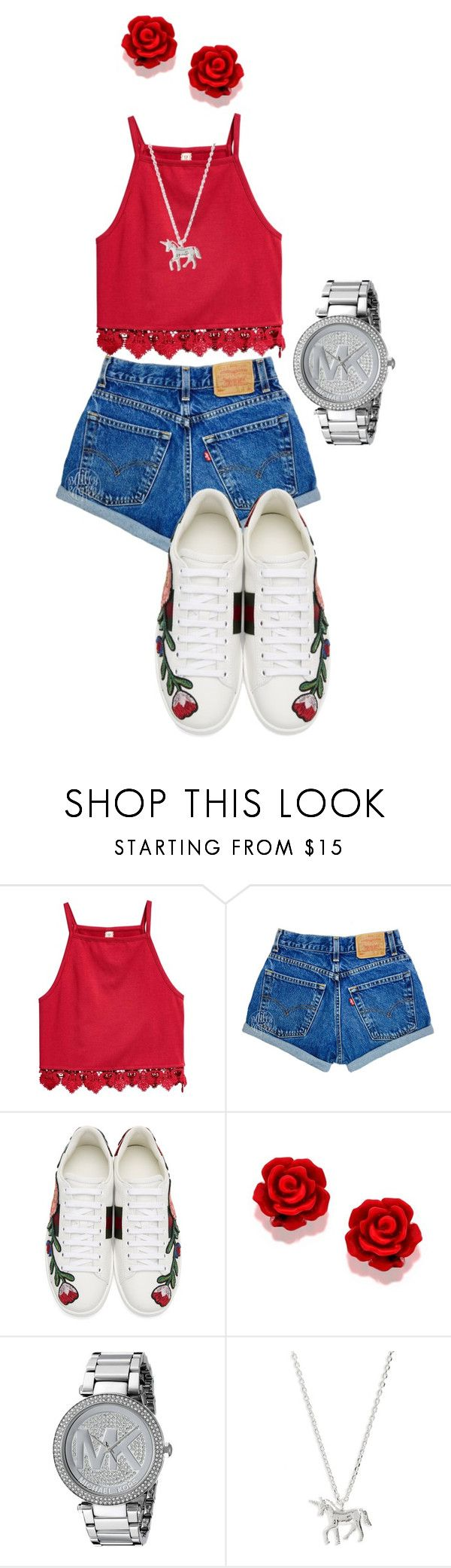 Untitled #99 by hcmad on Polyvore featuring Gucci, Michael Kors and Estella Bartlett