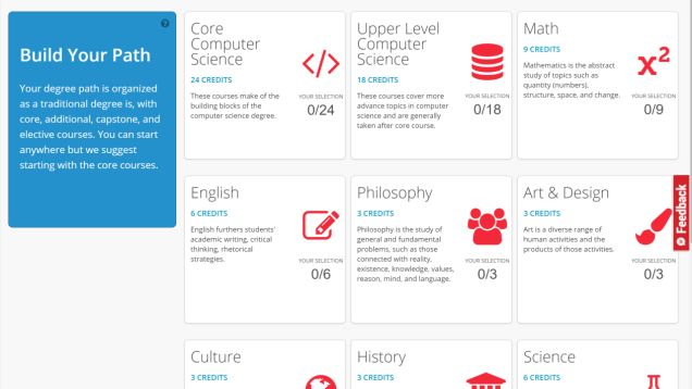CourseBuffet not only highlights free courses from top universities, it groups some of them into degree paths, so you can get a college BA-equivalent education from these free online courses.