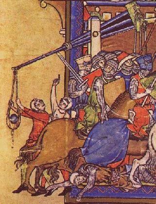 Historic Traction Trebuchet Illustrations Pt 2