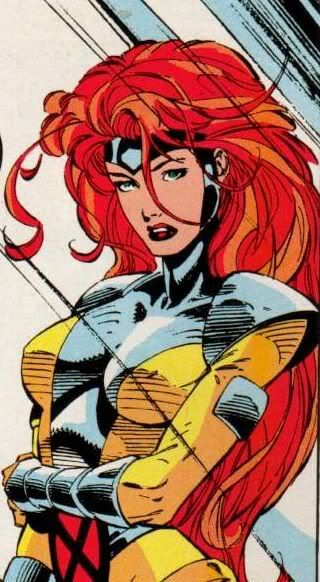 Jean Grey - Jim Lee  My favorite super hero of all time, tbh.