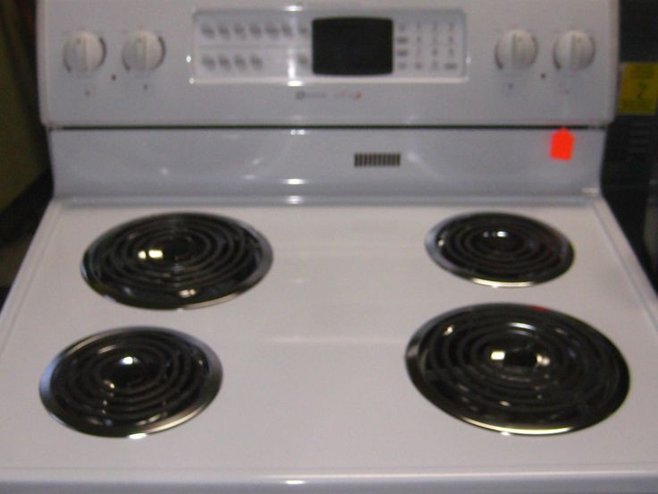 Double Oven Electric Coil Range Pictures