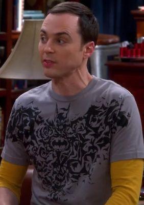29521764df7ee8 All Shirts Worn by Sheldon Cooper in The Big Bang Theory  Sheldon Coopers  Batman Bats Shirt