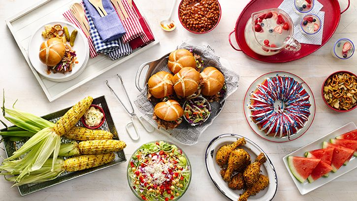 most popular food on 4th of july
