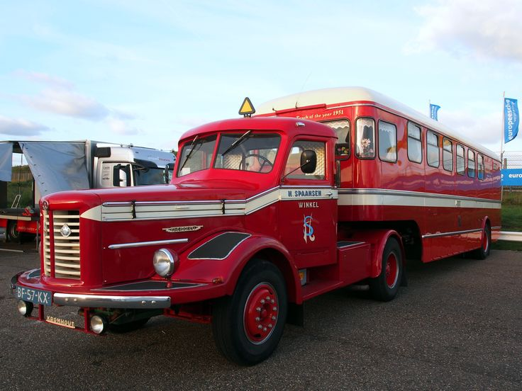 1952 Kromhout V6T