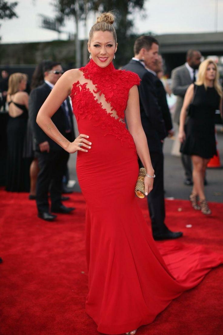 Colbie Caillat in Ezra Santos - 2014 Grammy Awards