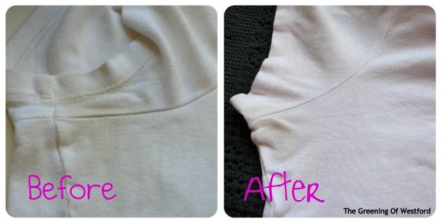 Natural Stain Remover Ring Around The Collar Clothes