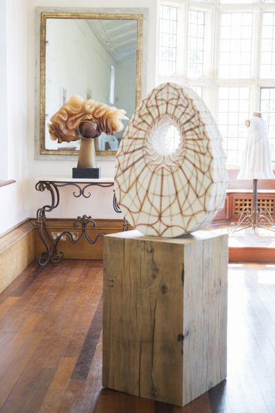 Lorfords collaborates with onform living with sculpture at asthall manor