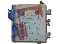 Finshed paper bag album