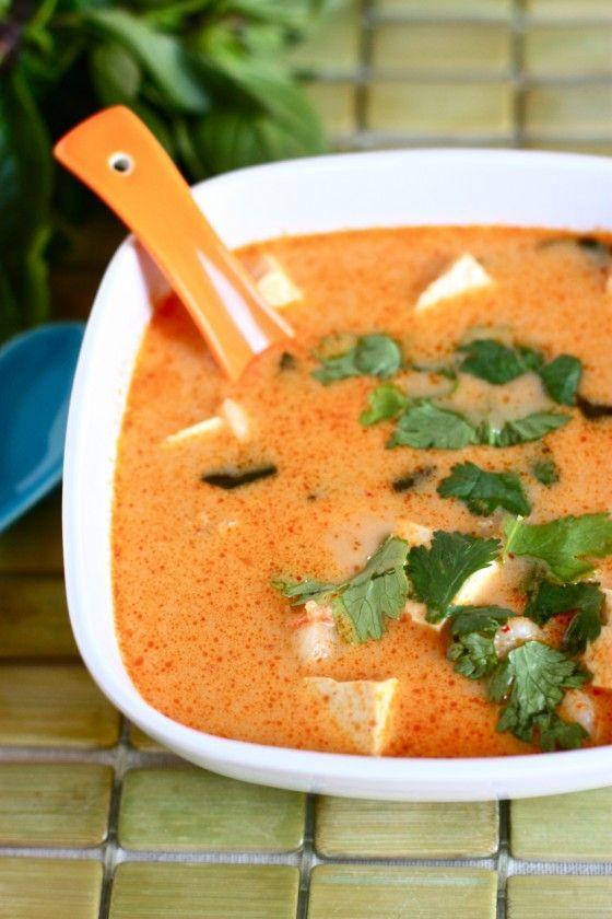 Soupe de noix de coco Thai
