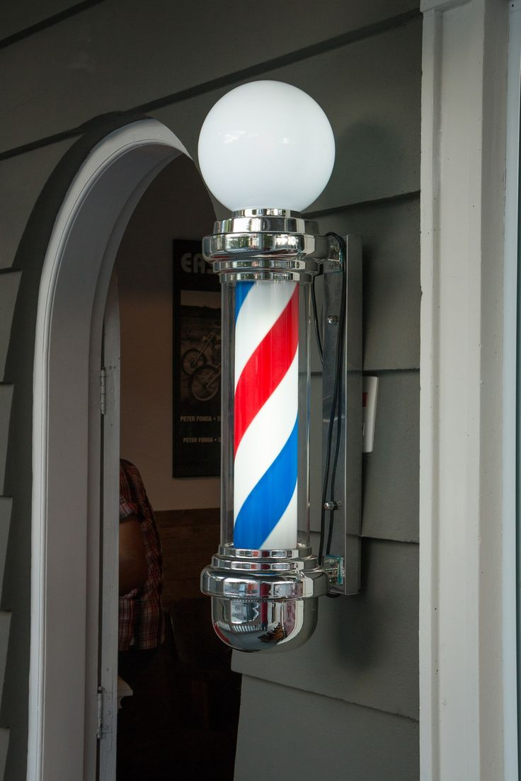 Barber shop pole distressed wall decal vintage style wall decor ebay - Barber Shop Pole Barber Shop Pole
