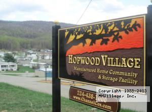 Hopwood Village Mobile Home Park In PA Via MHVillage