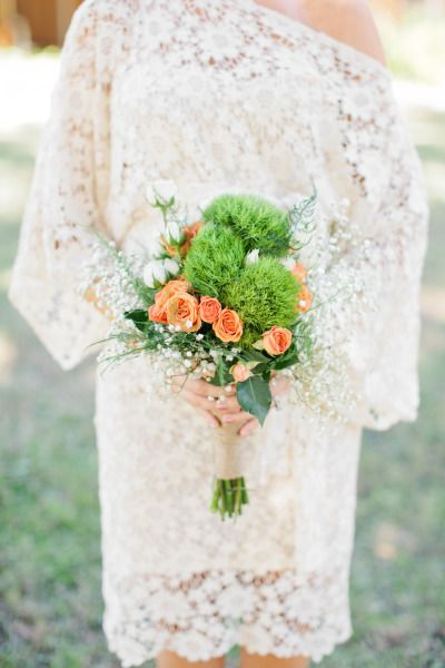 Boho bridesmaid look: http://www.stylemepretty.com/2014/04/22/rustic-southern-plantation-wedding/   Photography: Chelsey Boatwright - http://chelseyboatwright.com/